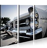 islandburner Bild Bilder auf Leinwand Pontiac Grand Prix Amischlitten XXL Poster Leinwandbild Wandbild Dekoartikel Wohnzimmer Marke