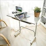 Folding table NAN Computer-Schreibtisch, Büro-Studien-Schreibtisch-Computer PC-Laptop-Tabellen-Arbeitsplatz-Spieltisch für Innenministerium, Buchenholz-Korn
