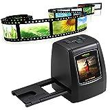 Film-Scanner, Miya®Filmnegativ und Foto konvertiert in digitale Dateien JPG | 14 Megapixel (22MP Max) Scanner für 35mm Film Dias und Negativ, 110 Film, 126 Film 135 Film -mit 8 GB SD-Karte