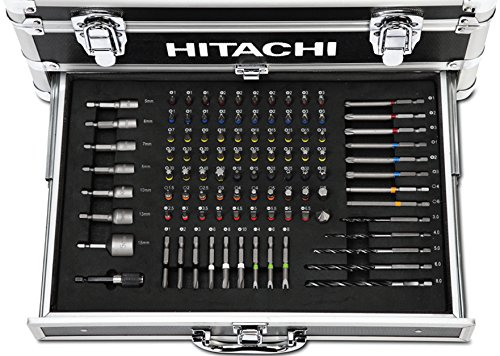 hitachi akku schlagschrauber set 18 v 1 5 ah 100 teilig akkuschrauber. Black Bedroom Furniture Sets. Home Design Ideas