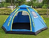 HYCy Vollautomatische Outdoor-Camping-Zelt Tourismus Zelte 6-8 Sechseckigen Großen Zelt / 6-8Persons Große Familie Automatische Camping Zelt