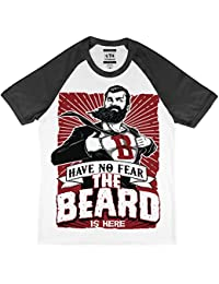 Have No Fear The Beard Is Here Baseball Style T-Shirt
