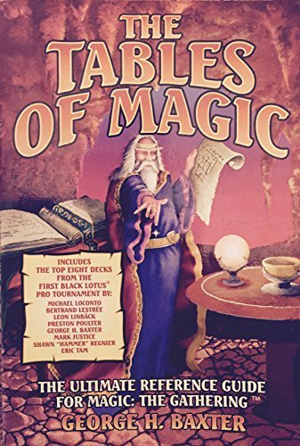 The Tables of Magic by George H. Baxter (1996-09-06)