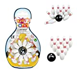 Deluxe Miniature Bowling Game Set - For ...