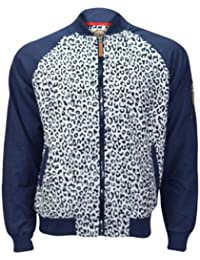SoulStar Boys Leopard Print Fully Lined Track Jackets Coats