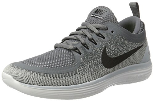 Nike Damen Women's Free RN Distance 2 Running Laufschuhe, Grau (Cool Grey/Wolf Grey/Stealth/Black), 42.5 - Schuhe Run Flex Nike Womens