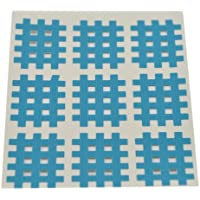 Kinseologie Gittertape 2,7 cm x 2,1 cm 10 Bögen in Blau, Cross Patches, Cross Tape preisvergleich bei billige-tabletten.eu