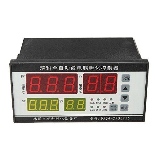 TuToy Digitaler Automatischer Computer-Inkubator Controller Temperatur Feuchtigkeit Controller Industrie-Inkubator