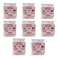 Concord Napkin Tissue, White (Set of 8)
