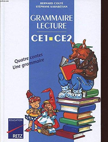 Grammaire et lecture, CE1, CE2, manuel