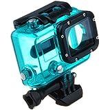 Gopro Hero 3 3+ 4 Case - TOOGOO(R)Camera Lens Cover Waterproof Custody Case Shell For Gopro Hero 3 3+ 4green