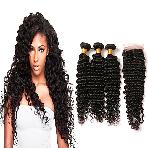dai-weier-unprocessed-brazilian-deep-kinky-curly-virgin-human-hair-weaves-with-lace-closure-pack-of-