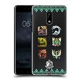 Head Case Designs Offizielle Monster Hunter World Alter Wald Ikonen Ruckseite Hülle für Nokia 6