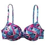 etirel Miriam Zig Zag Bikinioberteil Turquoise, Größe:42 B/C