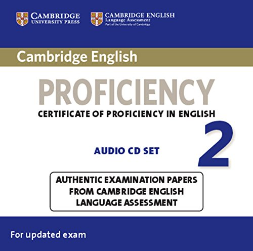 Cambridge English Proficiency 2 Audio CDs (2) (CPE Practice Tests)