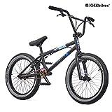 KHE BMX Fahrrad Beater patentierter Affix 360° Rotor 20 Zoll nur 11,2kg! schwarz grau (schwarz)