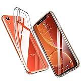 ESR Flexible Silikon Bumper Handyhülle Kompatibel mit iPhone XR Hülle, Transparente Schutzhülle...