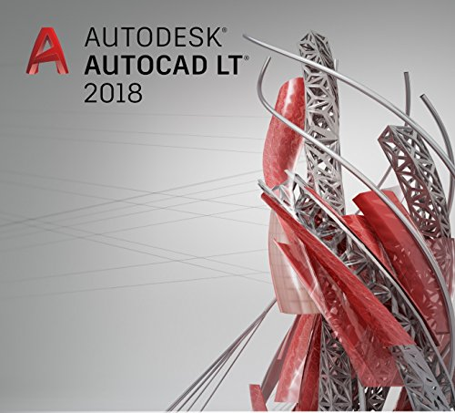 Autodesk AutoCAD LT 2018 Commercial New Single-user Annual Subscription