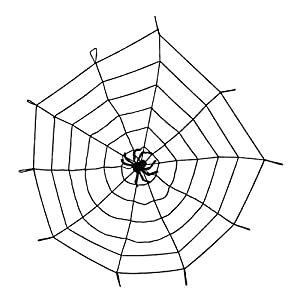Boland 74475 - tela de araña elástica con la araña, aproximadamente 150 cm