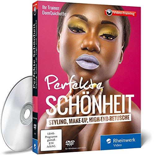 Perfekte Schönheit: Styling, Make-up, (Glamour Make Up Tutorial)