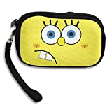 Launge Funny Spongebob Coin Purse Wallet Handbag