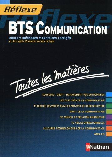 Toutes les matières - BTS Communication par Marianne Araskiewiez