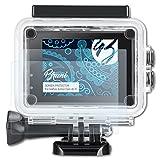 Bruni Schutzfolie für IceFox Action Cam 4k I5 Folie - 2 x glasklare Displayschutzfolie