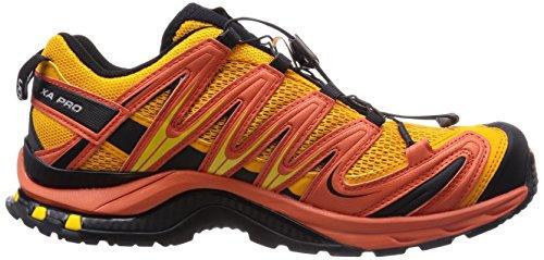 Salomon Xa Pro 3d, Chaussures de Sport Homme Orange  - Orange (Yellow Gold/Tomato Red/Black)