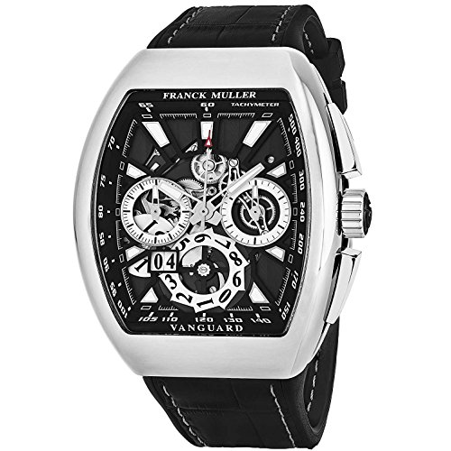 Franck Muller Vanguard Herren-Armbanduhr Schweizer Automatik 45CCGDBLKBLKSS