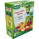 Blédina gourde pomme fraise banane 4x90g - ( Prix Unitaire ) - Envoi Rapide Et Soignée