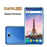 Oukitel K5000 (5.7 Pouces 18:9 Ratio Pleine Vision) 4G Android Smartphone Batterie 5000mAh 4 GB RAM 64 GB ROM, 21MP+16MP Camera Cellulari e Smartphone-Bleu