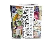 SAFE 7921 SAMMELALBUM BANKNOTENALBUM DIN A4 (leer) - Platz für bis zu 100 Banknotenhüllen und bis zu 800 Banknoten - Geldscheine - Papiergeld