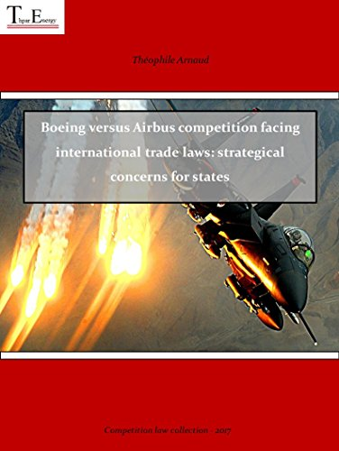 Boeing versus Airbus competition facing international trade laws: strategical concerns for states (Série droit économique  Book 1) (English Edition)