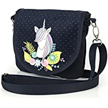 Shellbag Unicornio Flowers Unicron Collection bolso bandolera de pequeña para una pequeña princesa /Bolsa con