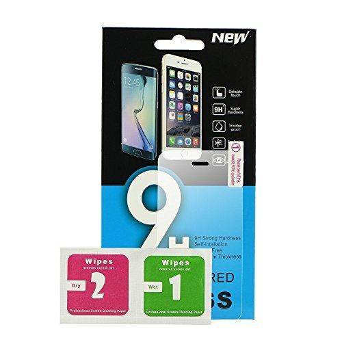 9H - Bildschirmschutzfolie 9H Mit Kurvenrand 2.5D Aus Gehärtetem Glas 0,3mm Kompatibel Mit Lenovo Vibe P1 - Transparent
