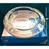 Supermall New Crystal Quality Glass 6X6 Inch Ash Tray Best Quality-PM11