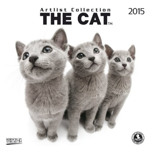 The Cat 2015: Broschürenkalender mit Ferienterminen
