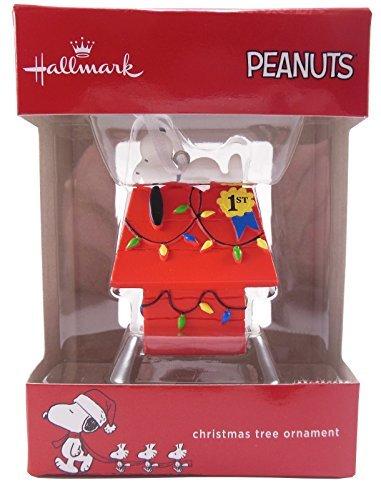 Hallmark adorno de Navidad–cacahuetes Snoopy 1st premio