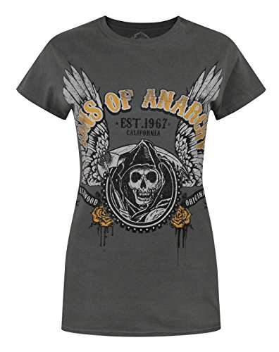 Official Sons Of Anarchy Winged Logo Women's T-Shirt