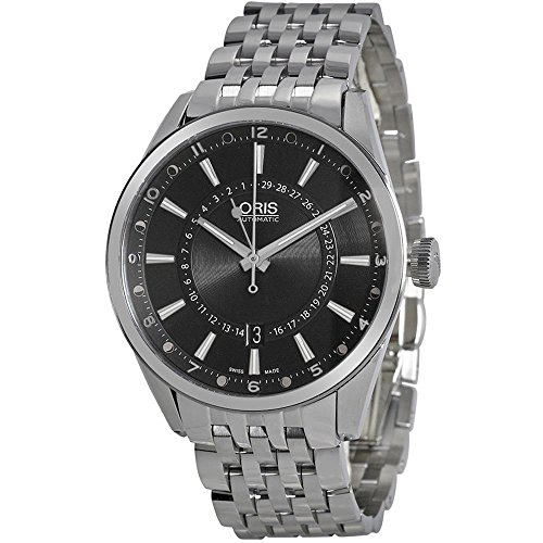 ORIS MEN'S ARTIX POINTER MOON 42MM STEEL CASE AUTOMATIC WATCH 76176914054MB