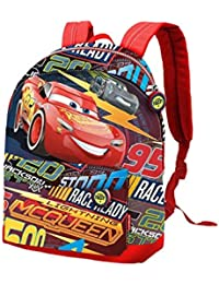 Karactermania Cars 3 Race Mochila Infantil, 32 cm, Rojo