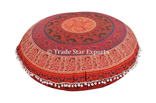 Grande indiano mandala copriletto federe cuscini decorative