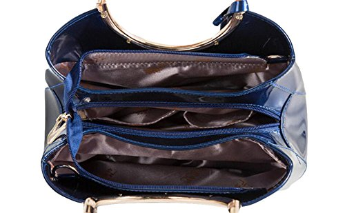 Beiläufige Art Und Weise Einfache Schulterbeutelhandtaschenhandtaschen-Brautbeutel Kurierbeutel Black
