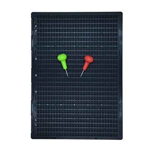 Brailletafel 27 Zeilen 30 Zeichen pro Zeil mit Griffel 2 stücke DIN A4