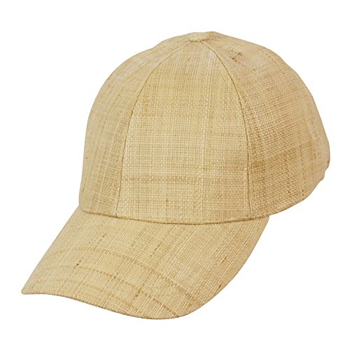 ef63506ba27e6 Conner Hats Jenny Cake Raffia Straw Baseball Cap - Brown -