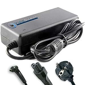 Adaptateur alimentation chargeur secteur pour ordinateur portable ASUS EeePC 1225B Visiodirect
