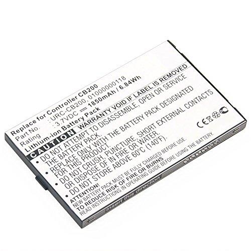 subtel® Batterie premium pour Sonos CB200 Controller CR200 CB200WR1 (1850mAh) 01000000118, URC-CB200 Batterie de recharge, Accu remplacement