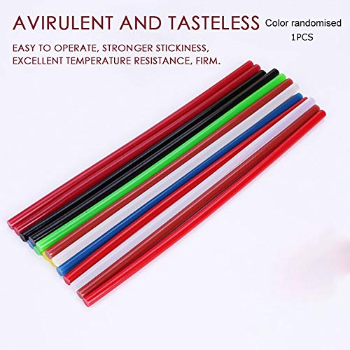 PXPQZAKHFTGRTZAP Colorful Hot Melt Glue Sticks Electric Glue Gun Craft Album Repair Tools -