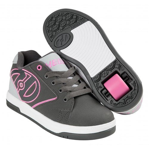 Heelys chaussure à roulette propel 2.0 he100041 charcoal gris rose Charcoal gris rose
