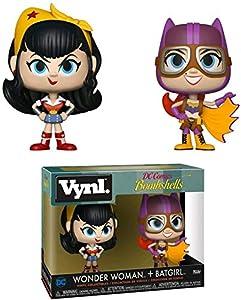 Pack de 2 Figurines Funko Vynl: Wonder Woman & Batgirl